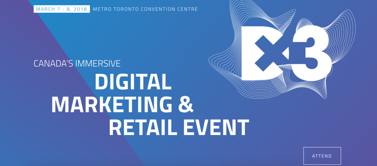 DX3 is Canada's largest conference for digital marketing