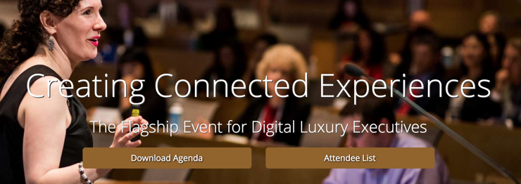 Seminars for upscale and exclusive online retailers in 2018