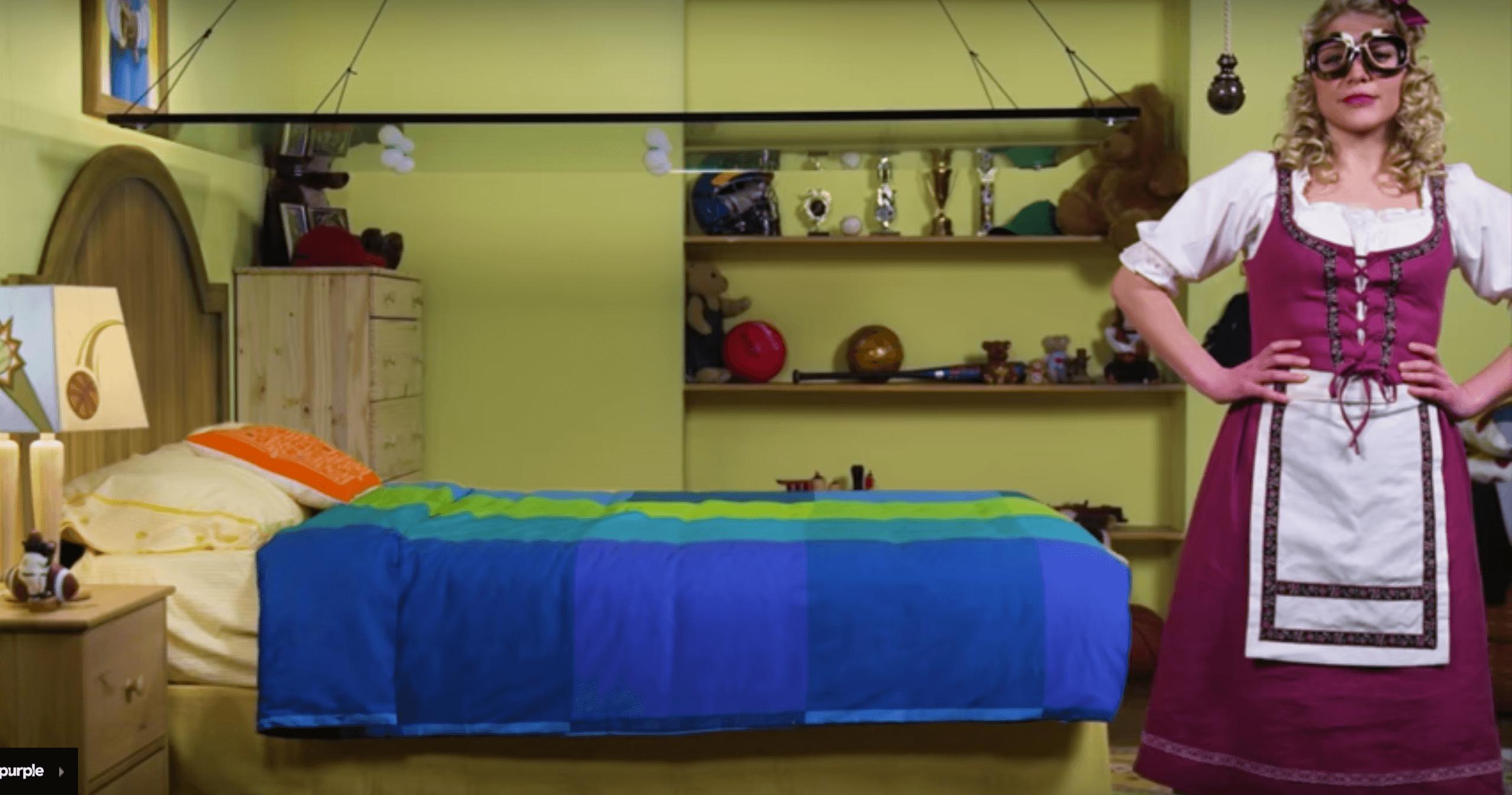 Purple Mattress Viral Video