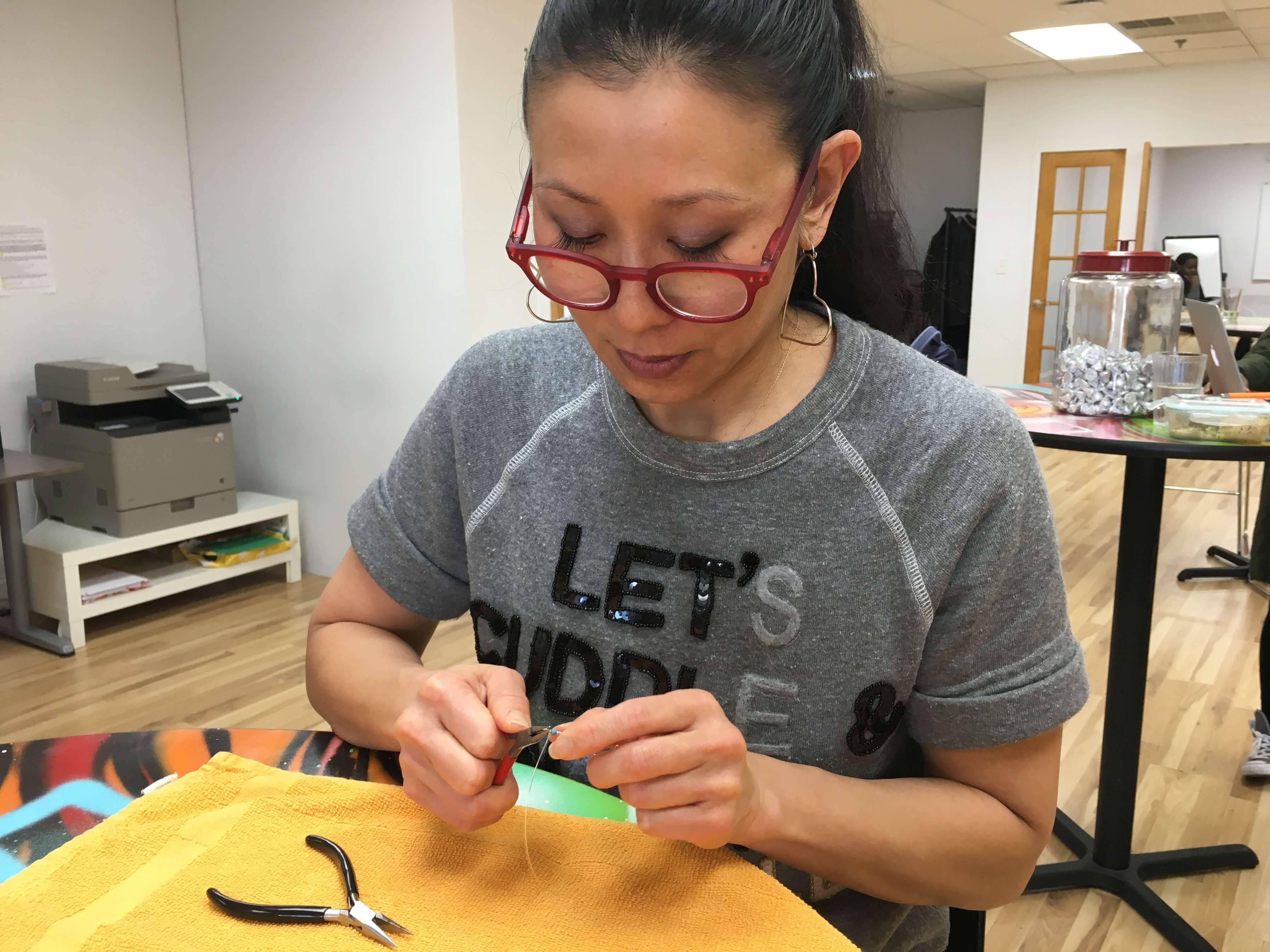 Tina Tang of Iron Strong Jewelry