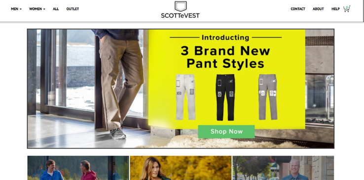 Buy all the pockets you need with ScotteVest