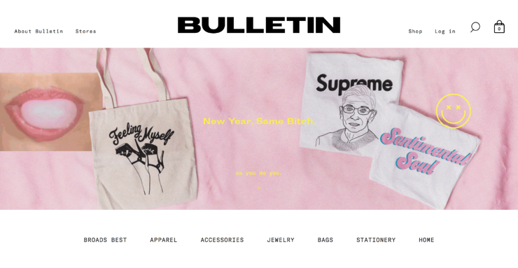Shop online at Bulletin