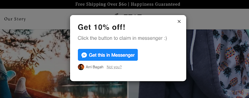 feat socks facebook messenger