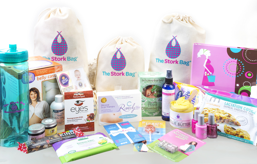 Products in the Stork Bag